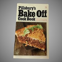 1970 Pillsbury's 21st Annual Bake Off Cook Book