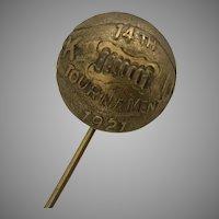 Kansas University (KU) 1921 Basketball Award Pin
