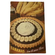 1941  Bananas.....How to Serve Them