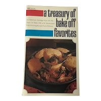 1969 A Treasury of Bake Off Favorites. Pillsbury Publications