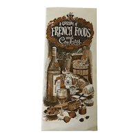 Glossary of French Foods and Cookery
