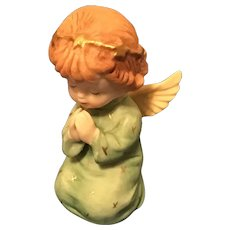 Praying Angel Bisque Figurine Taiwan