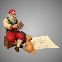 1998 Lenox Porcelain Annual Santa with COA