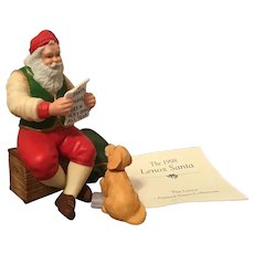 1998 Lenox Porcelain Annual Santa with COA