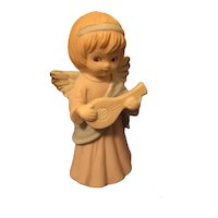 Lefton Trade Mark Exclusives Taiwan Angel with Mandolin