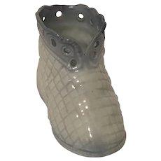 Porcelain Baby Bootie or Shoe Figurine
