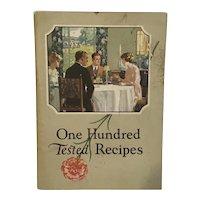 1923 Carnation Milk 100 Tested Recipes.