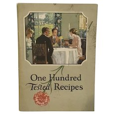1923 Carnation Milk 100 Tested Recipes.