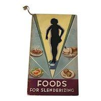 Battle Creek Sanitarium Foods for Slenderizing A. Moll Grocer Co. St. Louis, MO