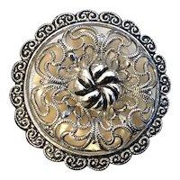 Vintage W. German Silvertone Scarf Clip