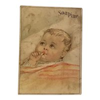 Victorian Trade Card Soapine