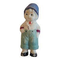 Bisque Hand Painted Dutch Boy Japan