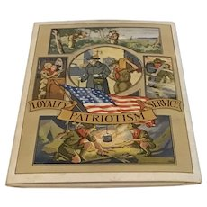 1942 Boy Scout Trifold Membership Card in Boy's Life Slipcase