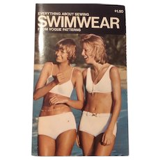 Everything About Sewing Swimwear from Vogue Patterns 1972