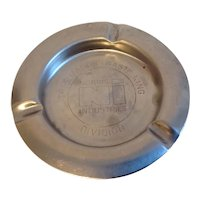 Metal Ashtray Norris Industries  Thermadore Waste King Division