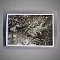 WWl Photo Dead Germans (Oise)
