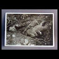 WWl Photo Dead Germans (Oise)
