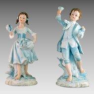 Andrea by Sadek #7190 Figurine Pair
