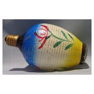 Large Colorful Japanese Lantern Figural Bulb