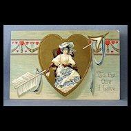 1909 Valentine To The One I Love