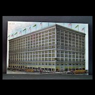 Unused Chromolithograph Postcard  The Fair Chicago