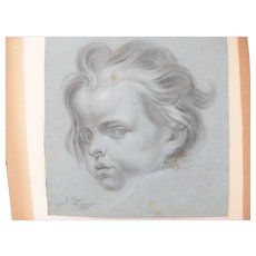 Old Master School Drawing