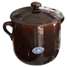 Italian made Vulcania bean pot
