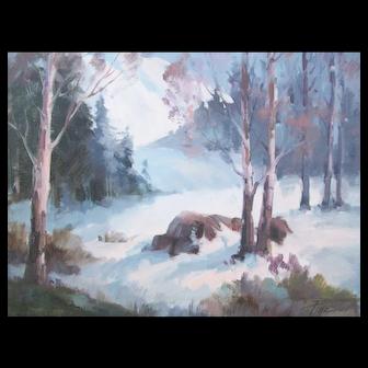Joyce Pike-Winter Scene