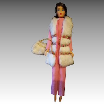 Vintage Flip TNT Barbie in Wild Thing variation