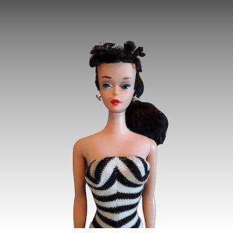 Vintage #4 Brunette Ponytail Barbie doll