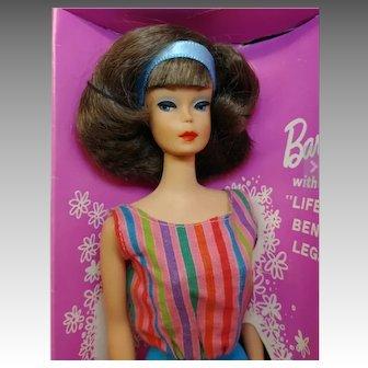 Vintage Side part American Girl Barbie with Box / Brunette