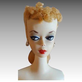 stunning #1 Blonde Ponytail Barbie Doll