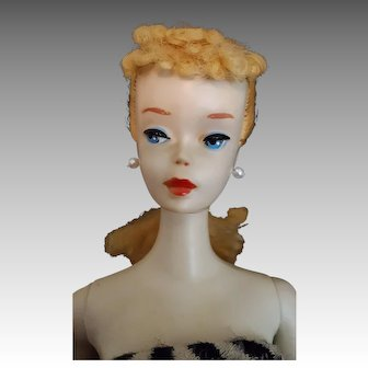 Stunningly pale #3 Ponytail barbie doll