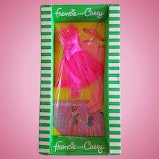 Vintage Francie & Casey #1762 PINK POWER (1969) NRFB
