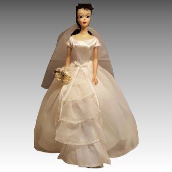 Vintage #3 Brunette ponytail Barbie Doll