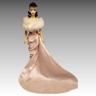 Beautiful #3 Ponytail Brunette Barbie doll