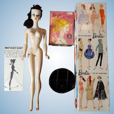 Vintage #1 ponytail Barbie Brunette