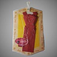 Vintage Barbie PAK red polka dot dress