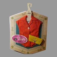 Vintage Barbie PAK red bodysuit with purse