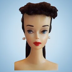 VINTAGE #3 Ponytail Brunette Barbie Doll
