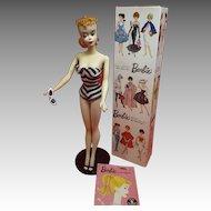 Beautiful #3 Blonde Barbie doll