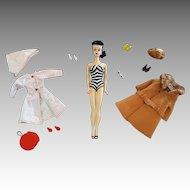 Beautiful #3 Brunette Barbie doll