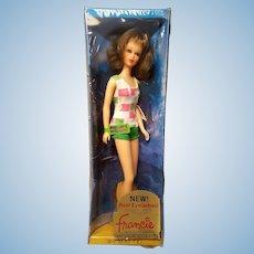 Vintage Mod Francie Barbie doll NRFB