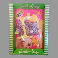 Vintage 1970 Francie & Casey Snake charmers NIB