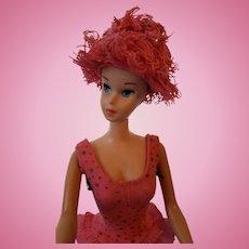 Vintage 1964 Miss Barbie with wigs