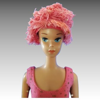 Vintage 1964 Miss Barbie with wig