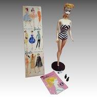 Rare #1 original ponytail Barbie Doll