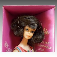 Vintage Side part American Girl Barbie with Box