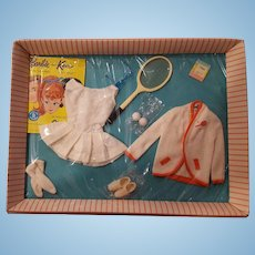 Vintage NRFB Barbie #941 Tennis Anyone outfit