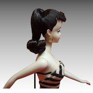Gorgeous #3 Brunette ponytail Barbie doll